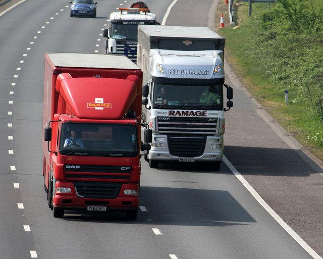 Международен транспорт - камион, тир